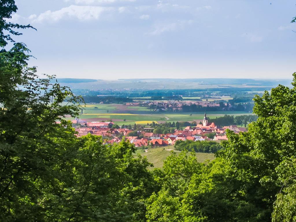 Steinbruchweg - Blick vom Steinbruch