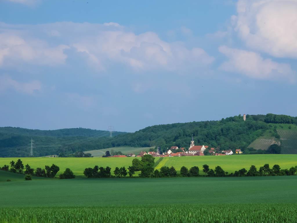 W2 Blick auf Castell