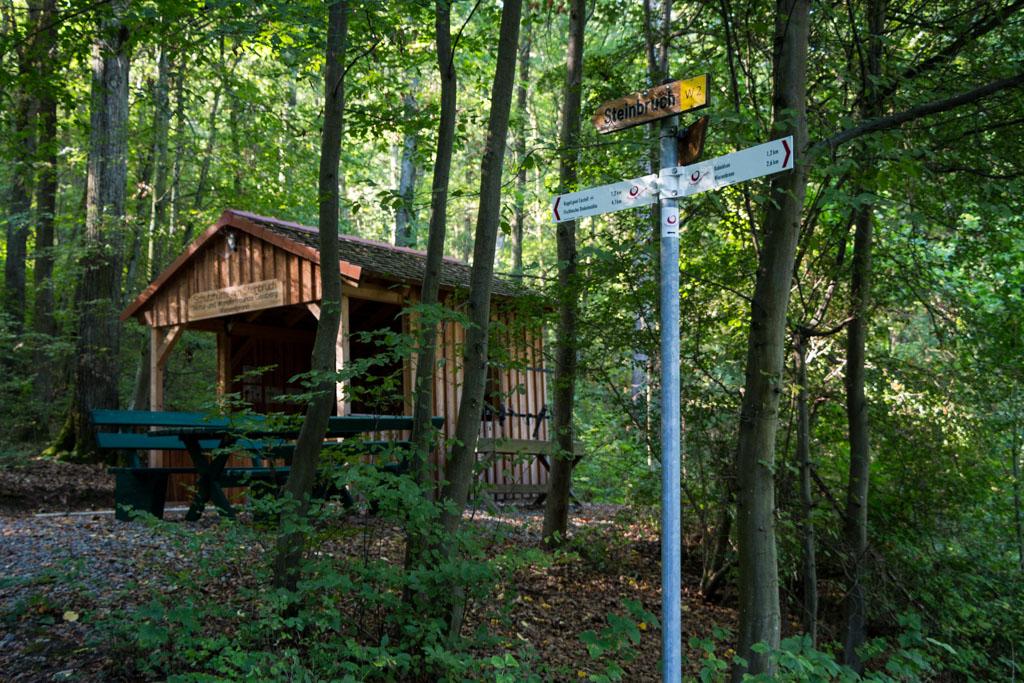 TraumRunde Wiesenbronn Steinbruchhütte