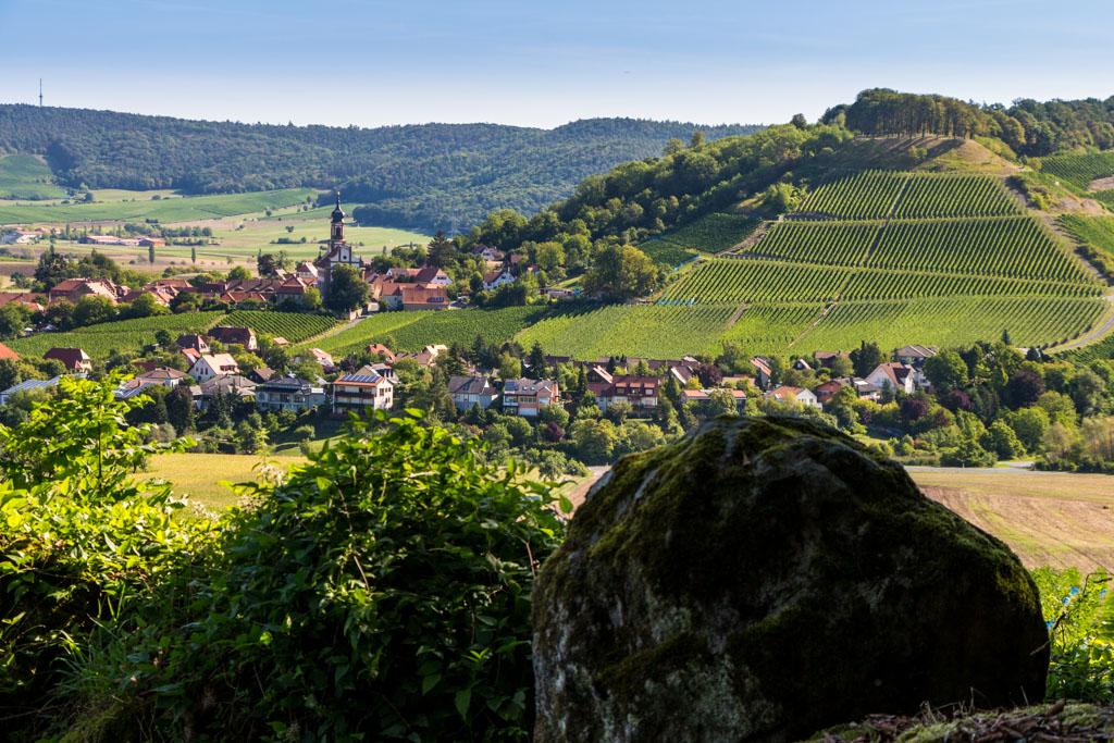 TraumRunde Wiesenbronn Castell mit Schlossberg