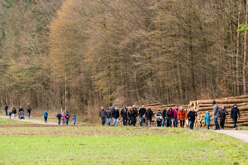 Osterwanderung - zur Fritz-Paul-Hütte