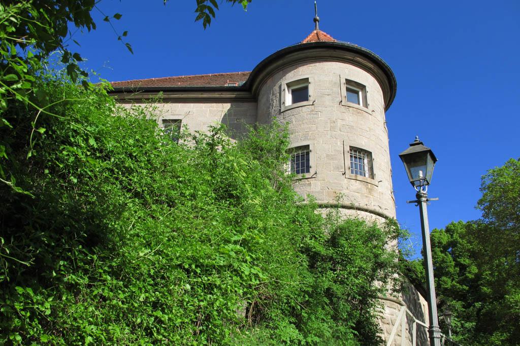 Alter Schwanbergweg - Schlossturm