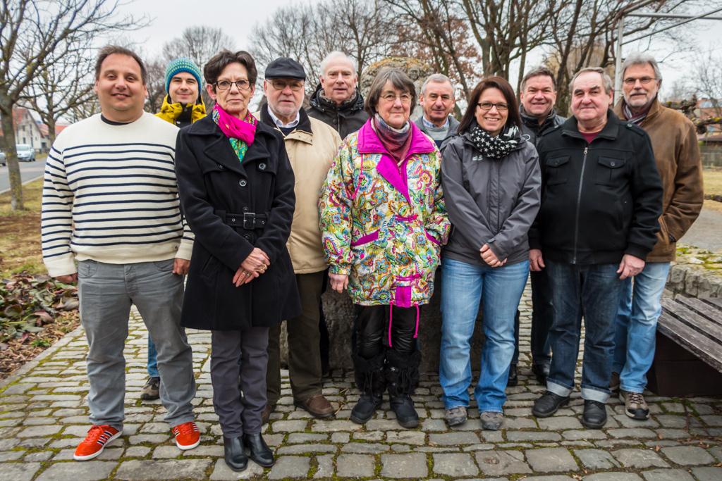 Gruppenfoto des Vorstandes