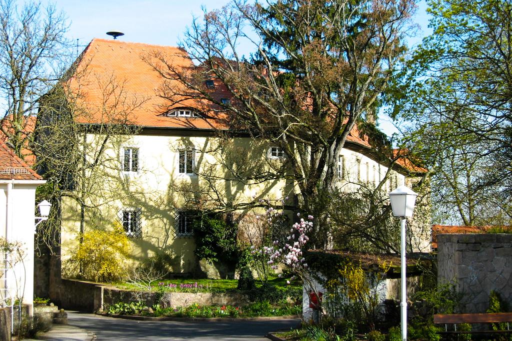 Schloss Parkseite