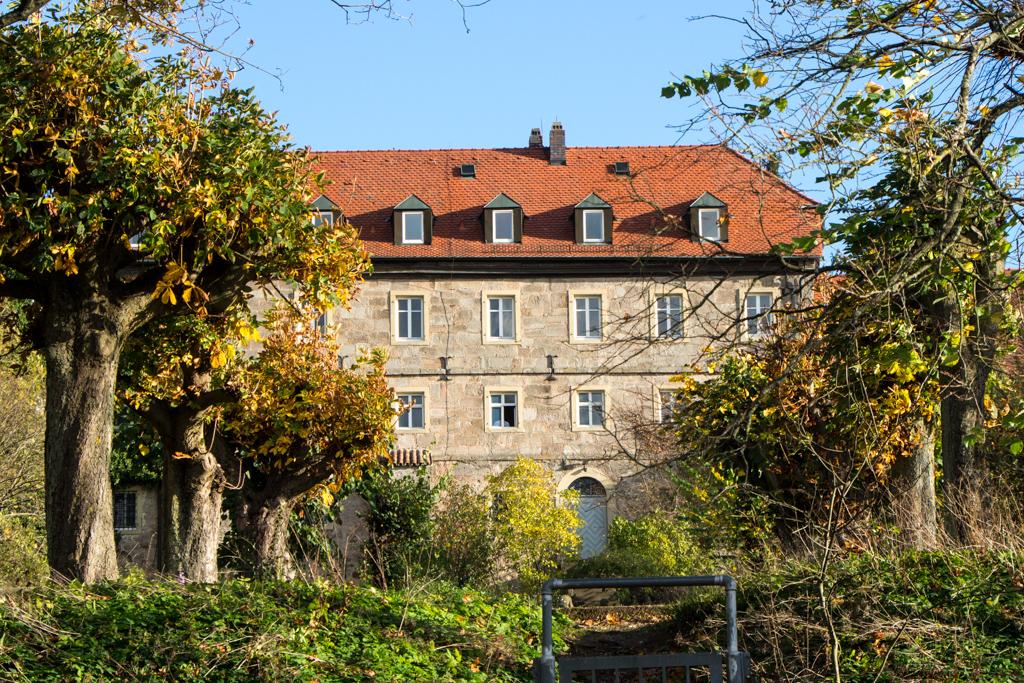 Schloss Westseite