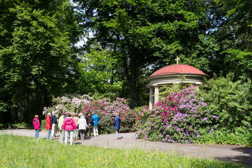 Schlosspark Mausoleum