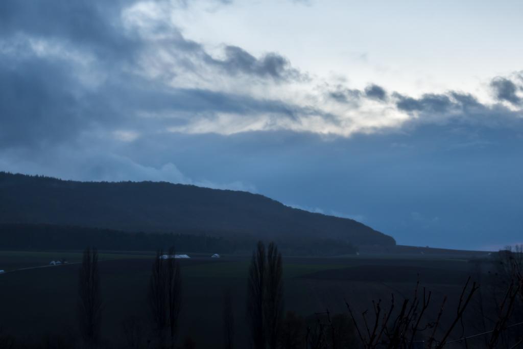 Der Schwanberg am Morgen