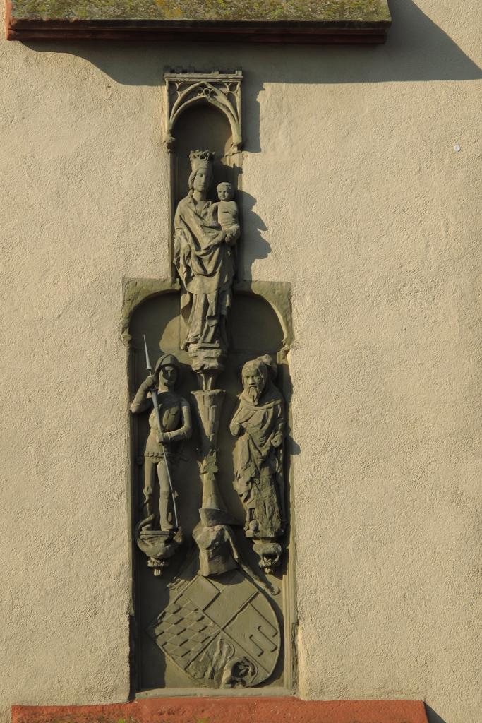 Großlangheim - Madonna an der Antoniuskapelle