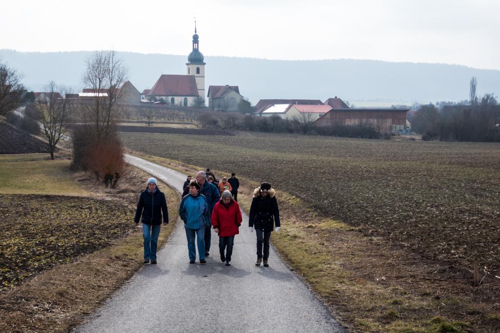 Winterwanderung Kleinlangheim