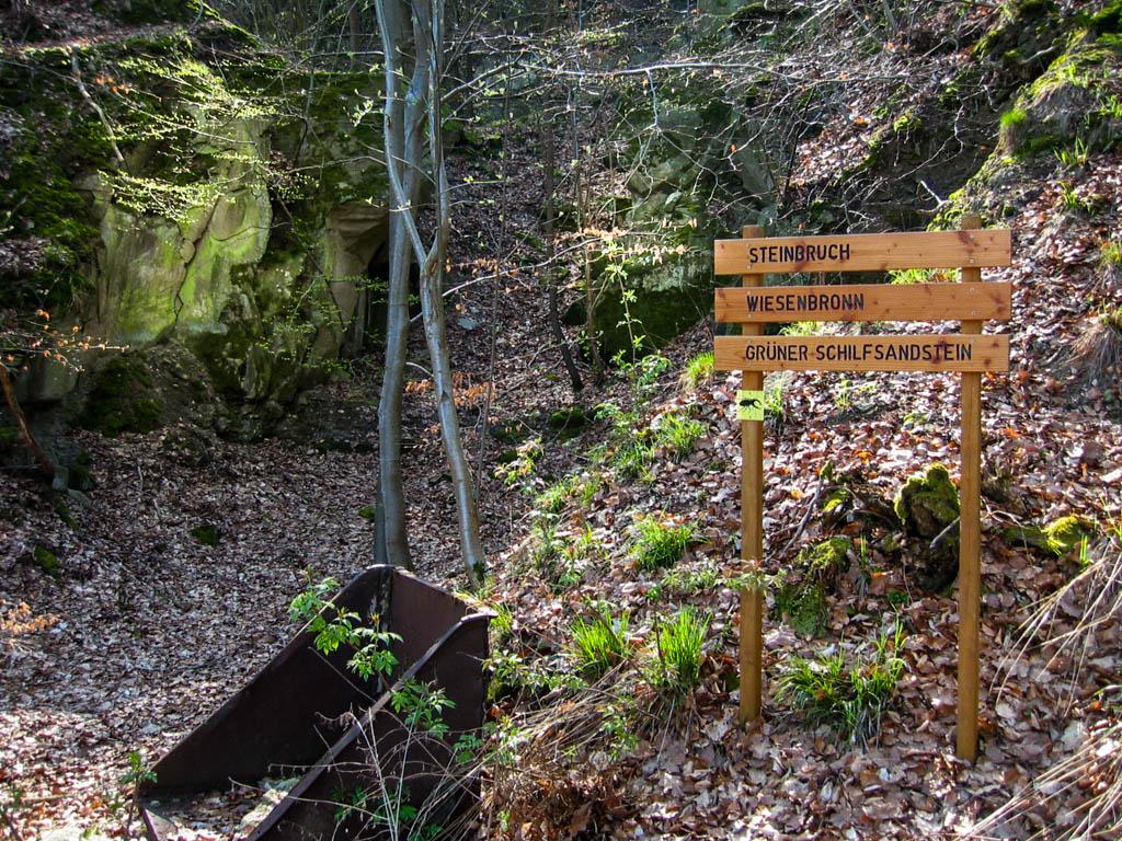 Steinbruchweg - Steinbruch
