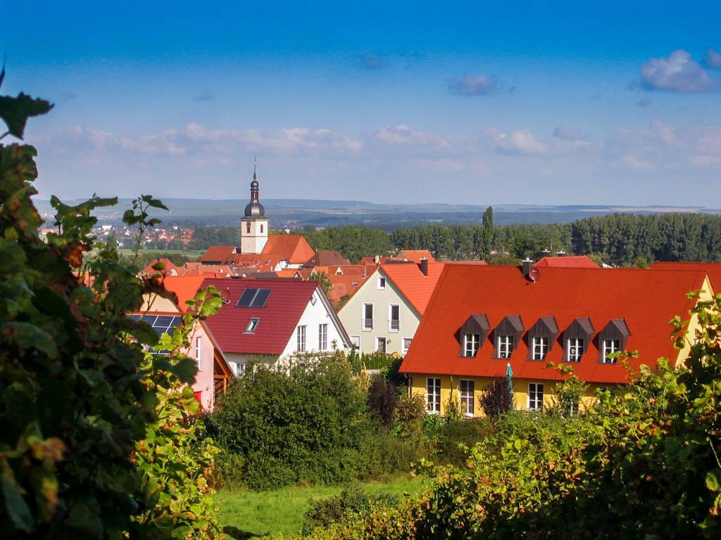Steinbruchweg - Blick vom Schiller