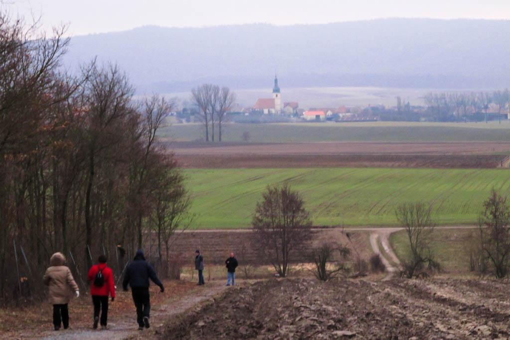 Wandergruppe Rückkehr nach Wiesenbronn