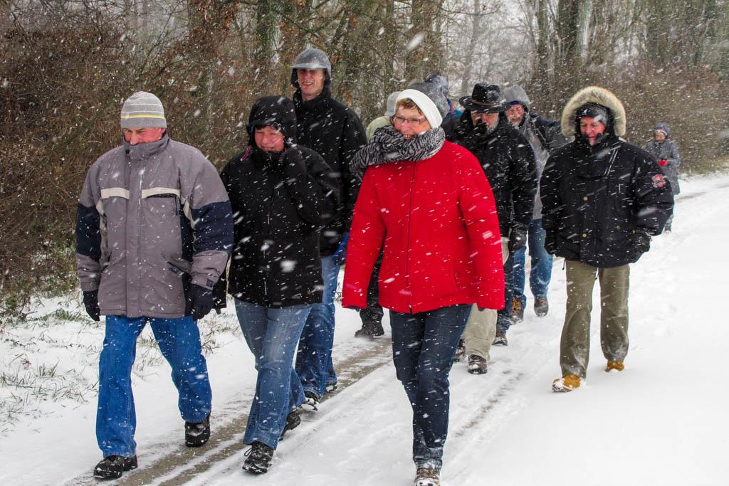 Wandergruppe nach Kleinlangheim
