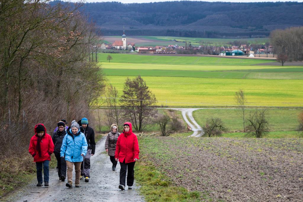 Winterwanderung - Am Wutschenberg hoch