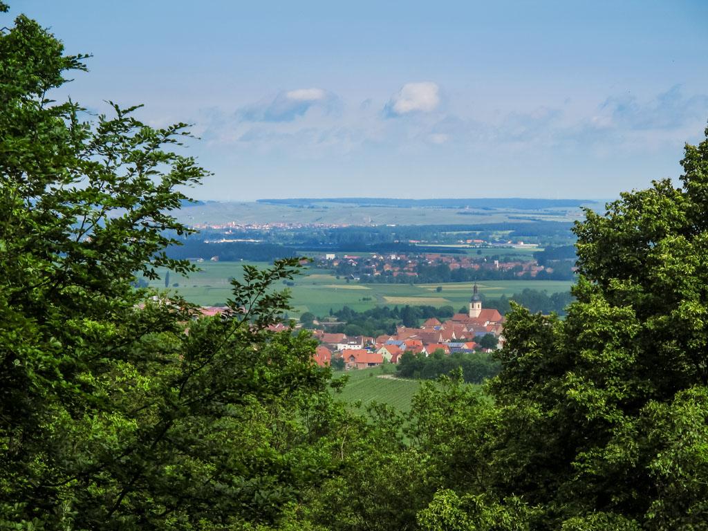 TraumRunde Wiesenbronn Aussicht vom Steinbruch