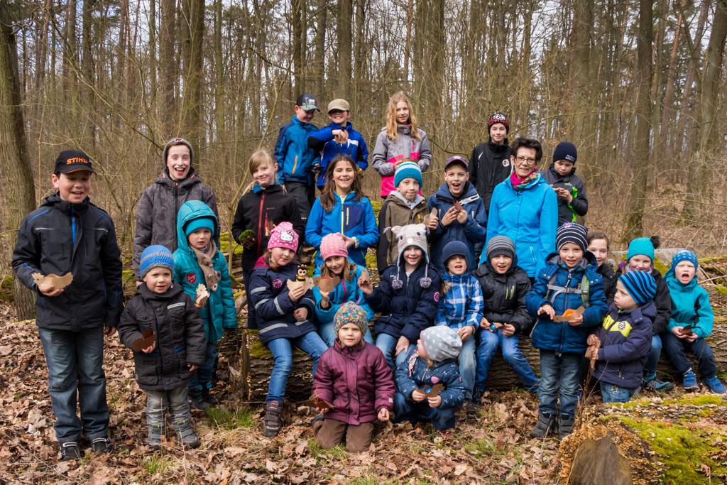 Osterwanderung - Gruppenfoto