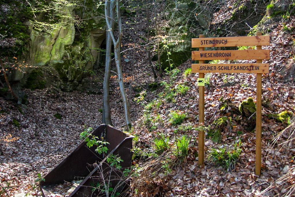 Wiesenbronn-Birklingen Steinbruch