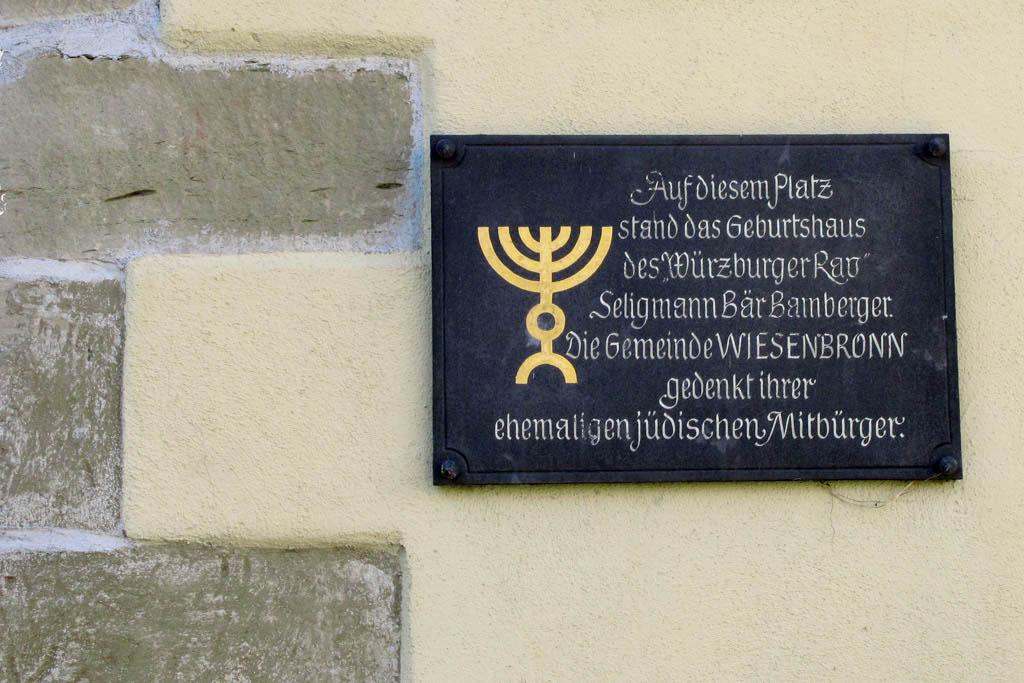 Schneckenweg - Gedenktafel