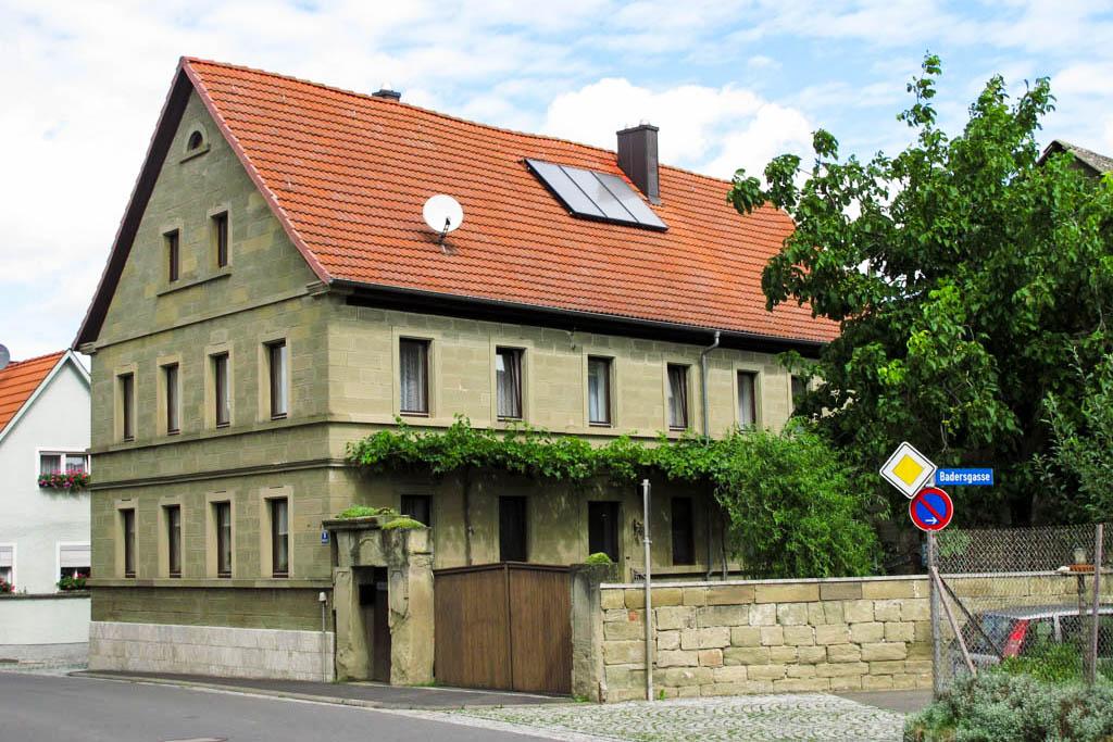 Schneckenweg - Sandsteinhaus