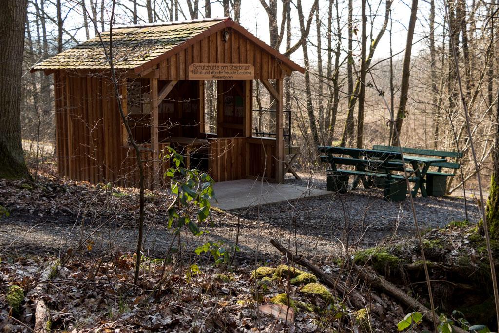 Wiesenbronn-Birklingen Schutzhütte am Steinbruchweg