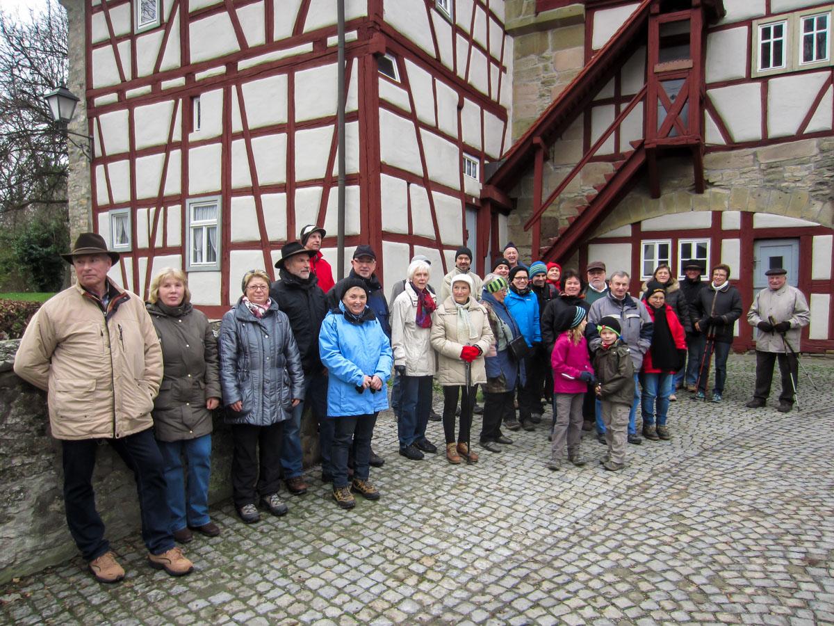 Wanderfreunde im Rödelseer Tor