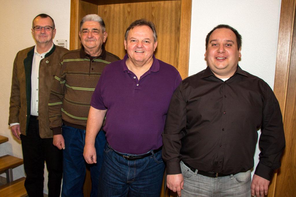 Gruppenfoto der Geehrten