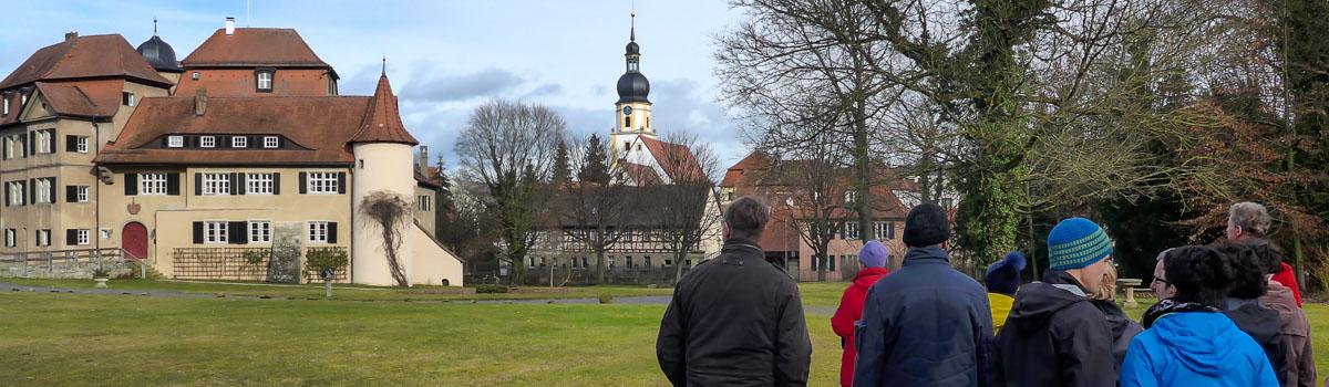 Wandergruppe in Rüdenhausen
