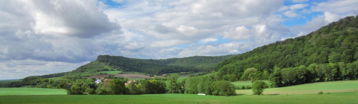 Handtal - Panorama