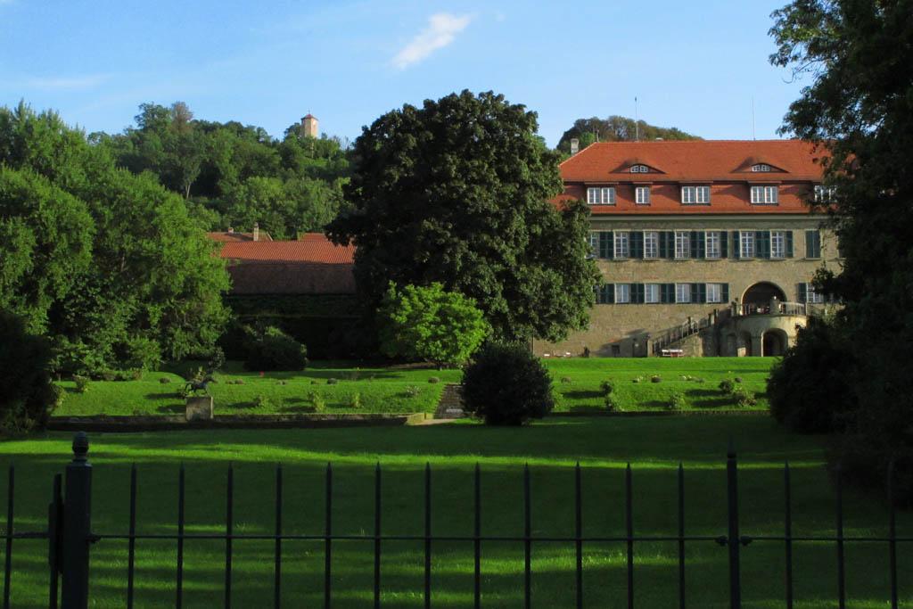 Castell Schlossgarten und Schloss