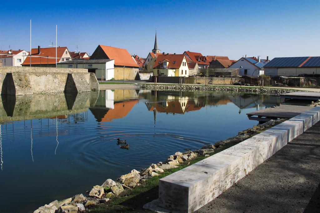 Schlosssee Großlangheim