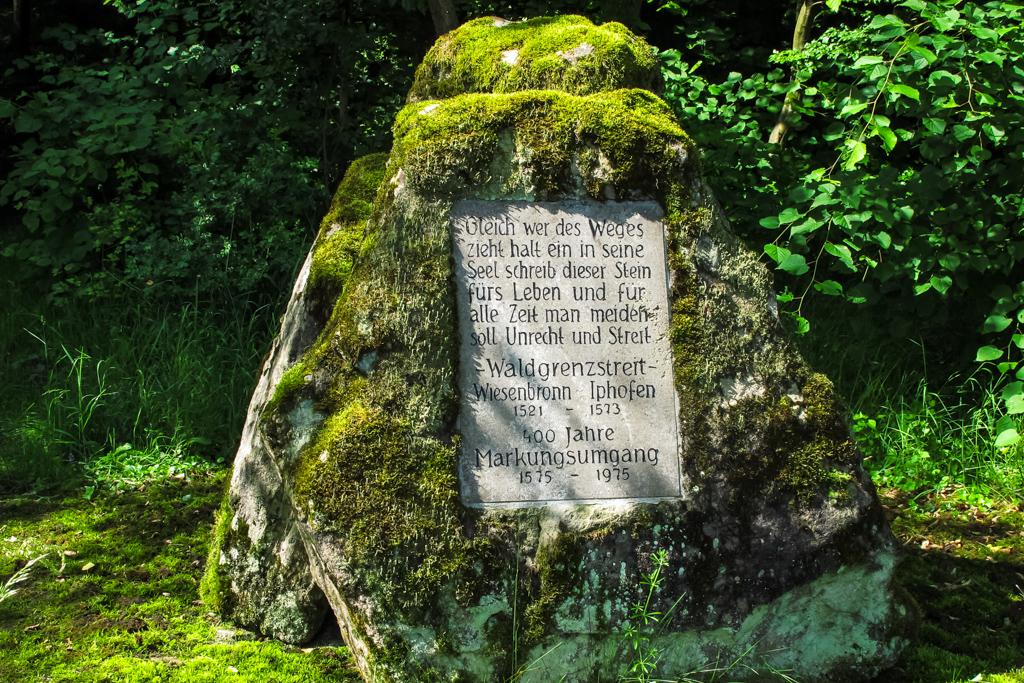 Denkmal 400 Jahre Markungsumgang