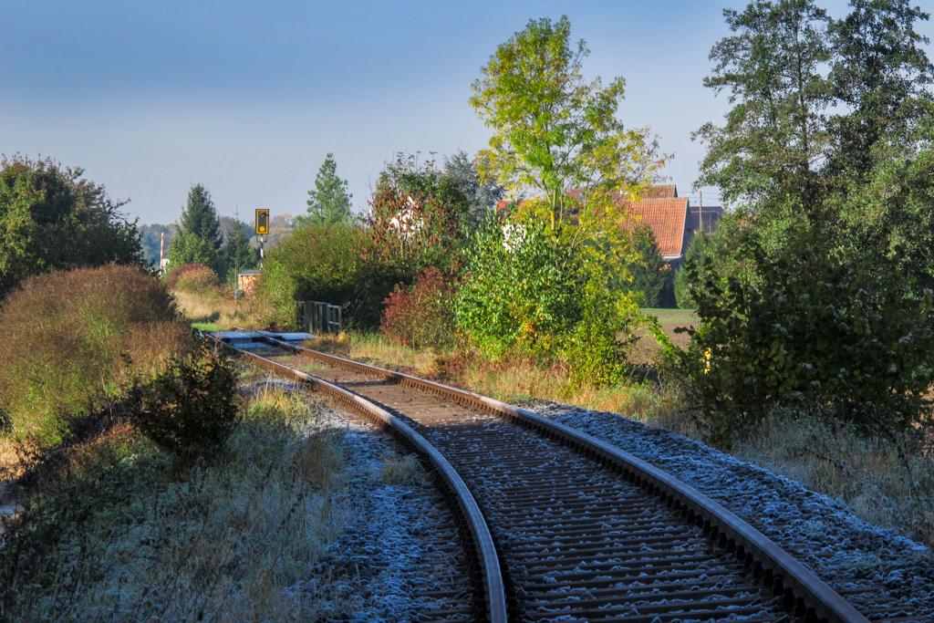 Eisenbahnschienen bei Feuerbach