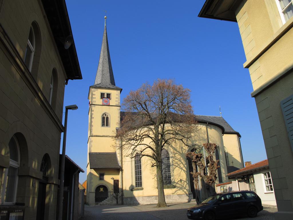 Großlangheim - Pfarrkirche