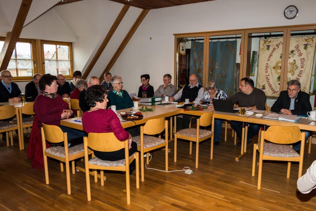 Mitgliederversammlung der Wanderfreunde
