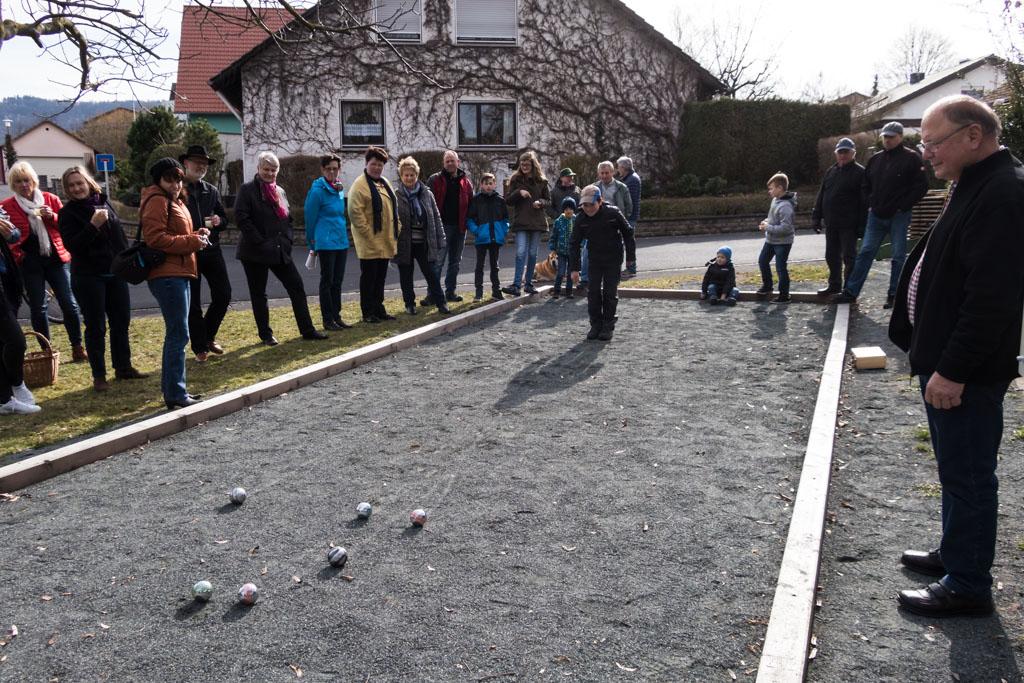 Boule - das Spiel beginnt